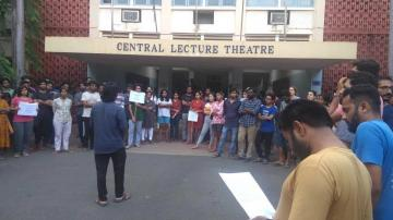 Hunger strike at IIT-Madras; 3 professors inquired over student suicide - Daily news