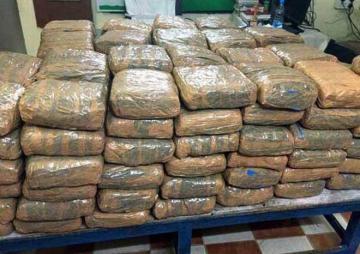 Nangapptinam's biggest ganja bust yields  - Daily news