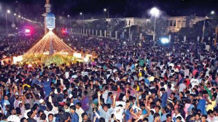 Chennai police has pointers for New Year revellers...  - Daily news