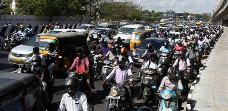 Nandanam Signal back to the old traffic diversions for a week - Daily news