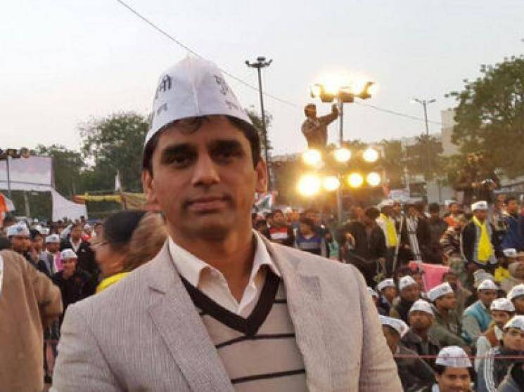 Cadre in AAP celebratory convoy shot dead, 1 arrested   - Daily news
