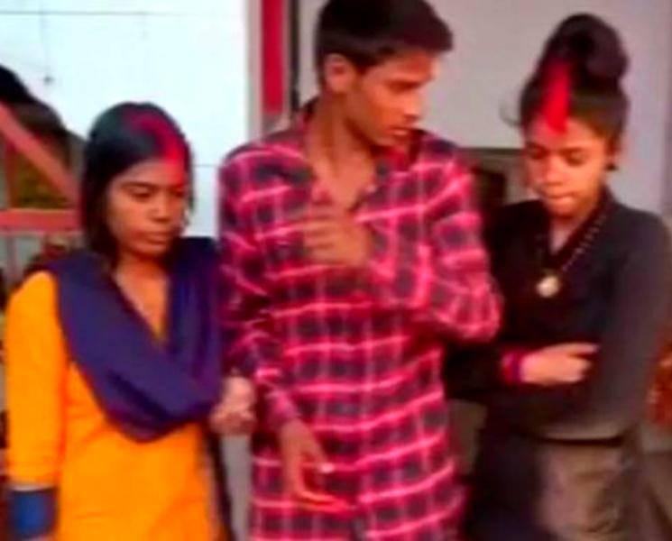 ஒரே நேரத்தில் 2 காதலிக்கு தாலி கட்டிய காதலன்! - Daily news