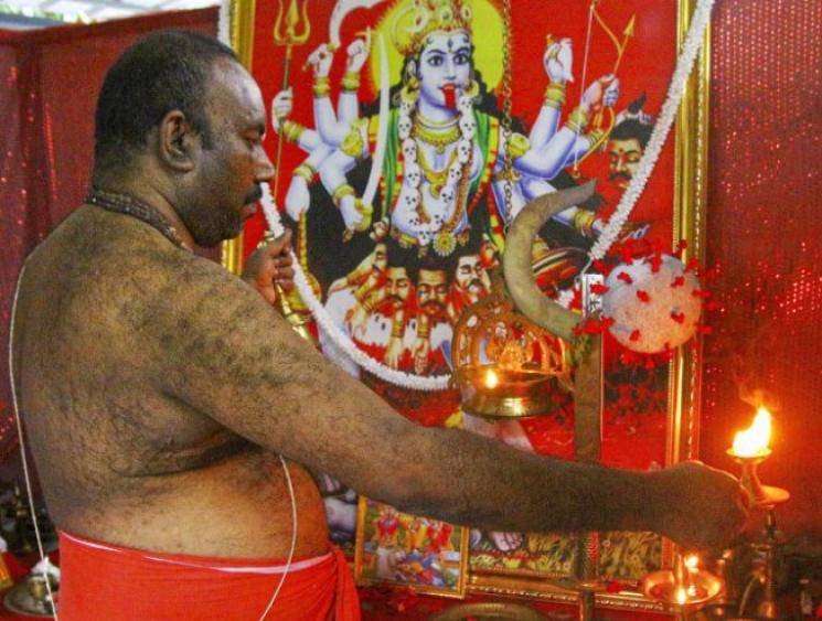 Kerala man conducts 'Corona Devi' pujas for safety of health workers