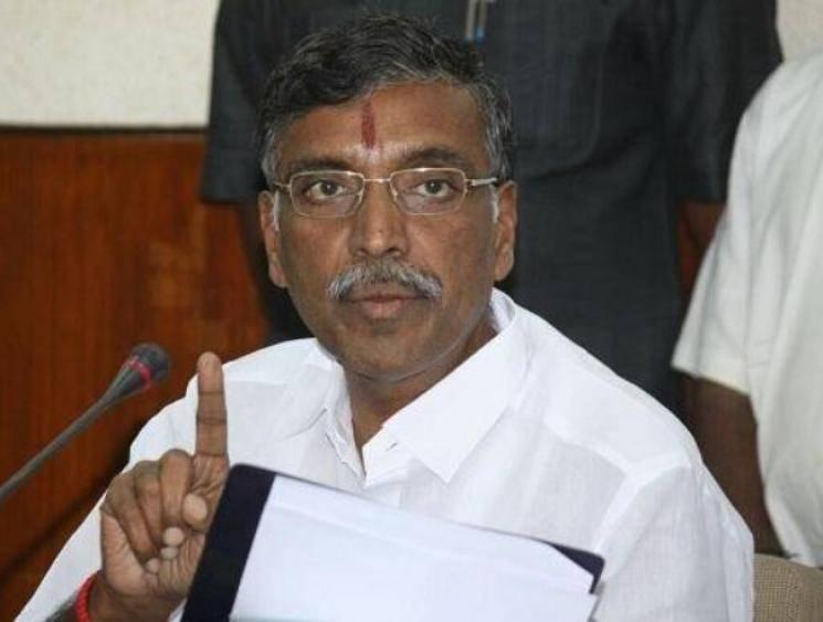Tamil Nadu Higher Education Minister KP Anbazhagan tests positive for coronavirus - Daily news