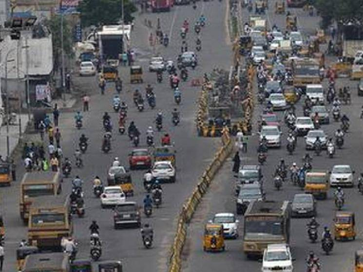 Chennai Anna Salai to be shut down for all vehicles except ambulances till June 30!