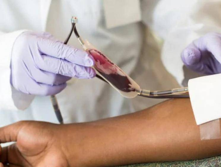 Doctors donate blood amid coronavirus pandemic after shortage in blood banks