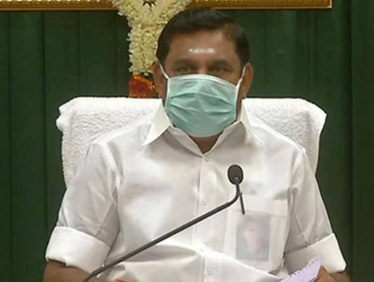 Tamil Nadu Chief Minister Edappadi K. Palaniswami tests negative for coronavirus