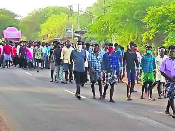 500+ people participate in gangster's funeral in Villupuram!