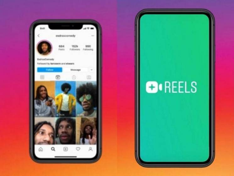 Instagram's new video feature Reels allows you to create your own Tik Tok style videos