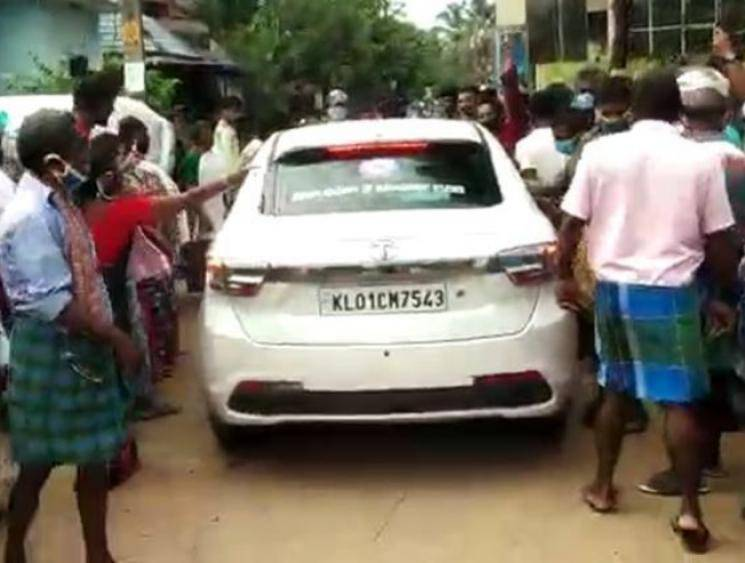 Locals in Kerala attack medical team's car and cough at COVID-19 workers