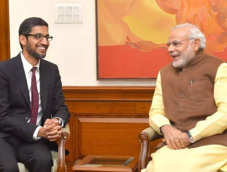 Google to invest Rs 75,000 crore in India, says Sundar Pichai after interaction with PM Modi