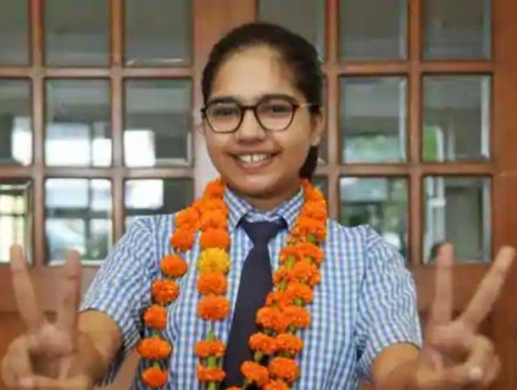 CBSE Class 12 Results - Lucknow girl Divyanshi Jain scores 600 out 600 marks