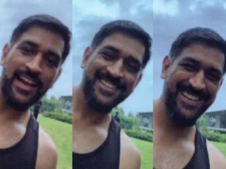 MS Dhoni new video released by CSK takes social media by storm, fans delighted!