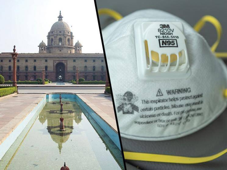 Centre issues warning against use of N-95 masks with valved respirators