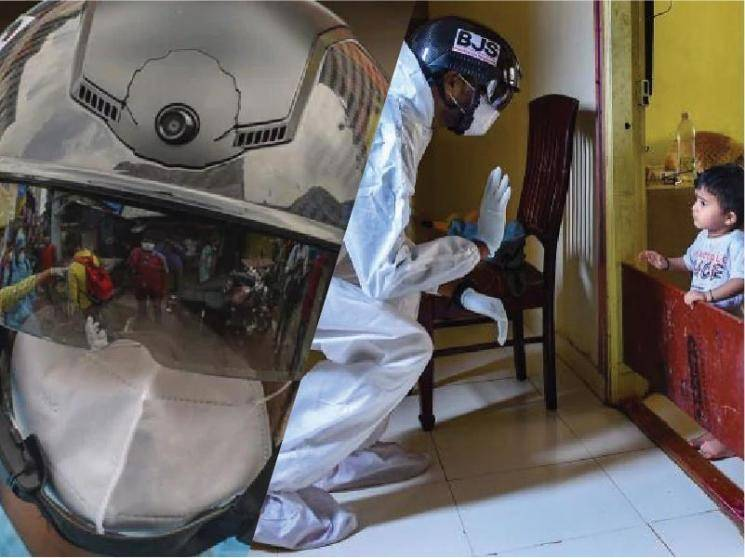 Smart Helmets deployed in Mumbai for COVID-19 screening