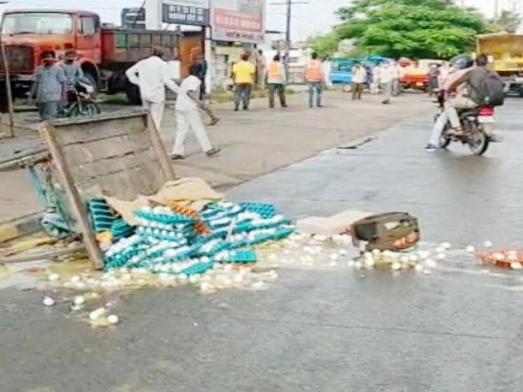 MLA promises house for egg seller whose cart was damaged by Corporation Officials! - Daily Cinema news