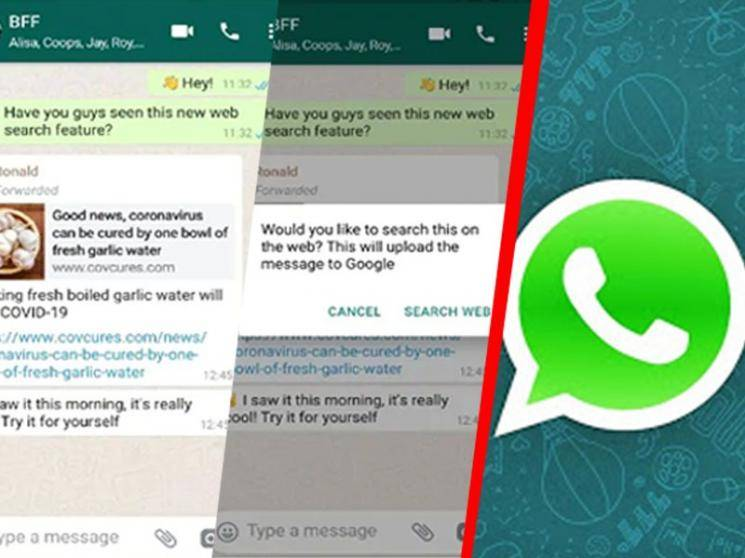 WhatsApp's 'Search the Web' feature launched to help double check forwarded messages - Daily news