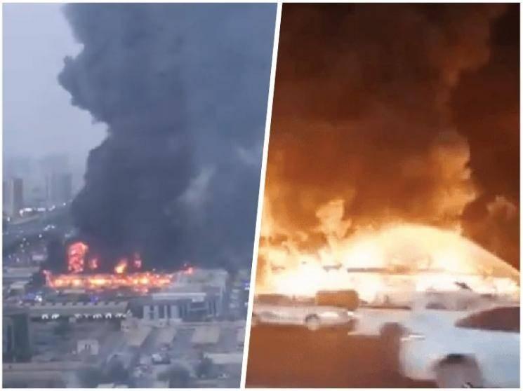 Huge fire breaks out in UAE's Ajman market, zero casualties reported - News Update