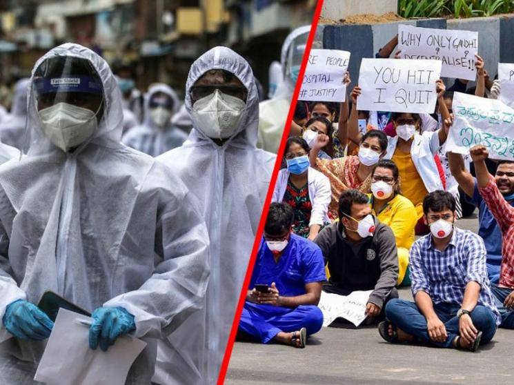 COVID-19 doctor suspension in Tripura, colleagues stage protest - Daily Cinema news