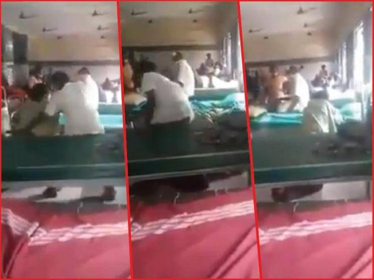 Tamil Nadu hospital employee suspended after dragging patient out of wheelchair | viral video - Daily news