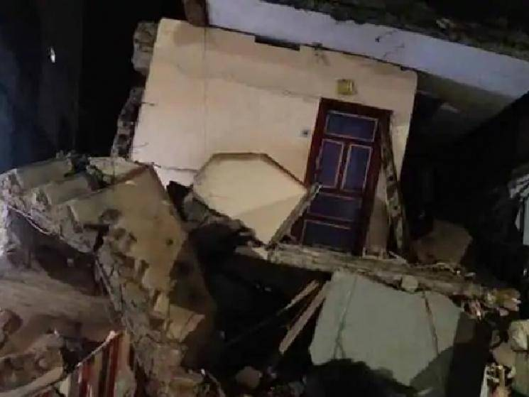 2 dead as building collapses in Coimbatore following heavy rains! - Daily Cinema news