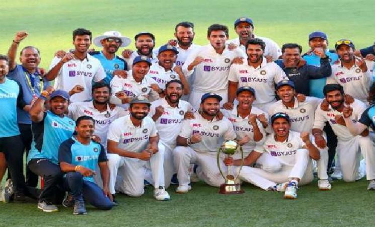 India create history in Australia by breaching the Gabba fortress! - News Update