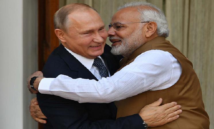 Vladimir Putin wishes Indian President & PM Modi dashes Chinese hopes! - Daily news