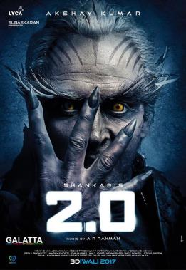 Akshay Kumar in 2 Point 0 poster