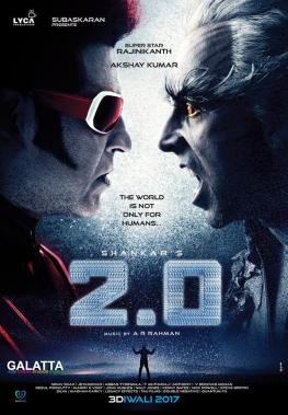 Rajinikanth and Akshay Kumar in 2 Point 0