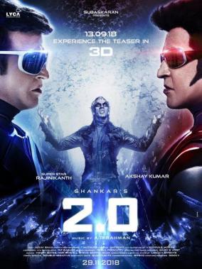 2point0 Superstar Rajinikanth