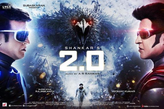 Superstar Rajinikanth in 2.0
