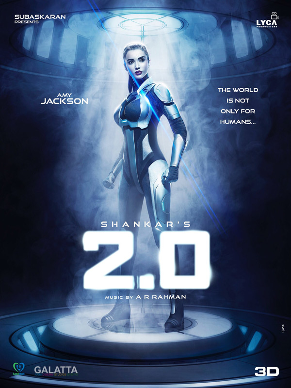 Amy Jackson in 2 Point 0