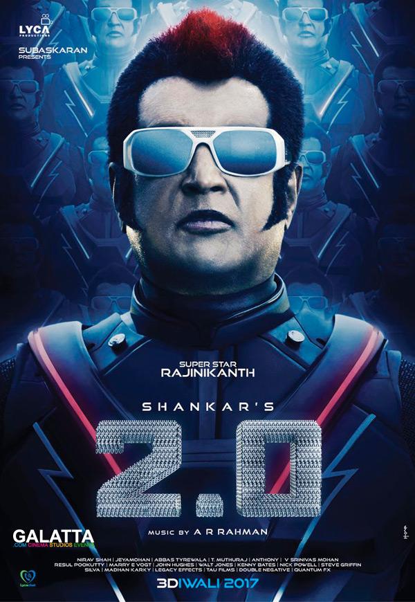 Rajinikanth in 2.0 poster