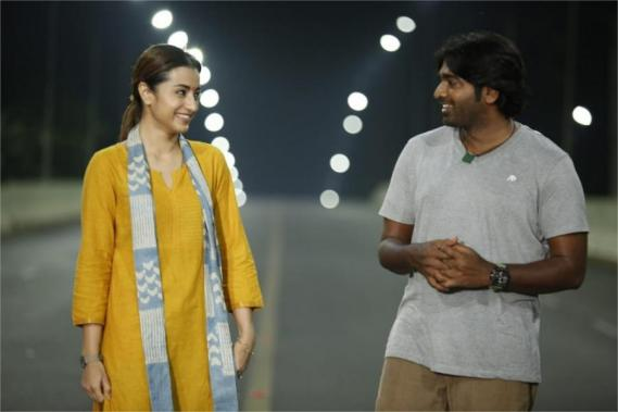 Makkal Selvan Vijay Sethupathi and Trisha in 96