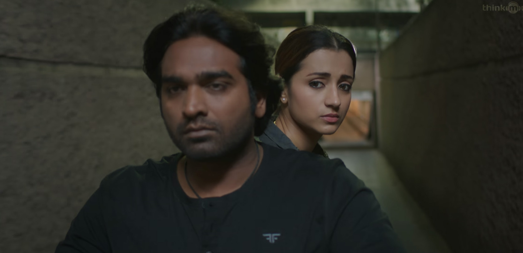 Vijay Sethupathi and Trisha in 96 teaser