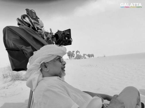Mani Ratnam at Chekka Chivantha Vaanam shooting spot