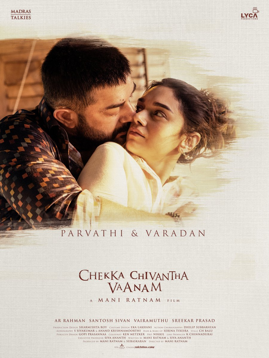 Arvind Swami and Jyothika in Chekka Chivantha Vaanam