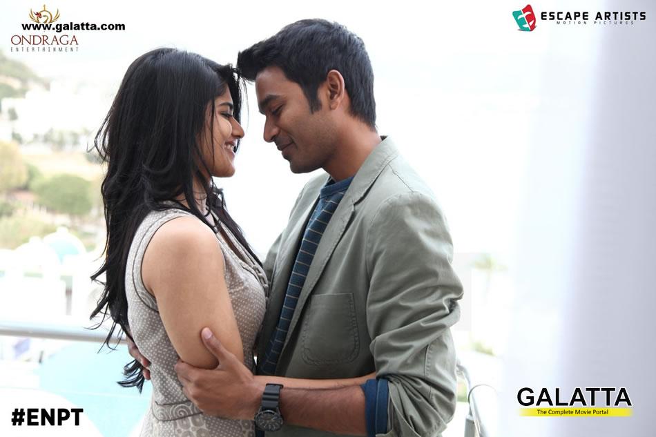 Dhanush And Megha Akash For Maruvaarthai song in ENPT