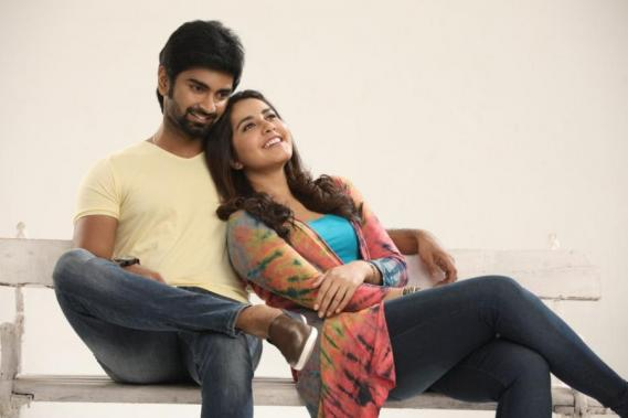 Atharvaa and Raashi Khanna in Imaikkaa Nodigal