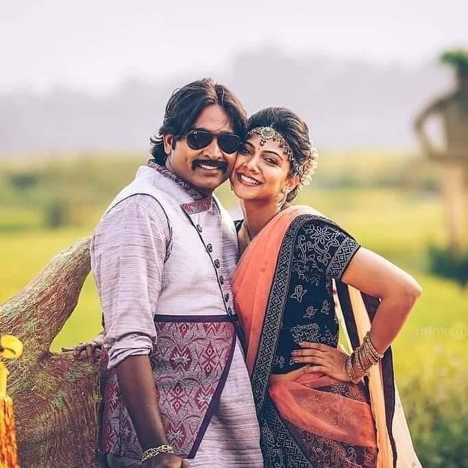 Vijay Sethupathi and Madonna Sebastian in Junga