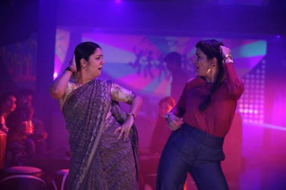 Jyothika and Lakshmi Manchu in Kaatrin Mozhi