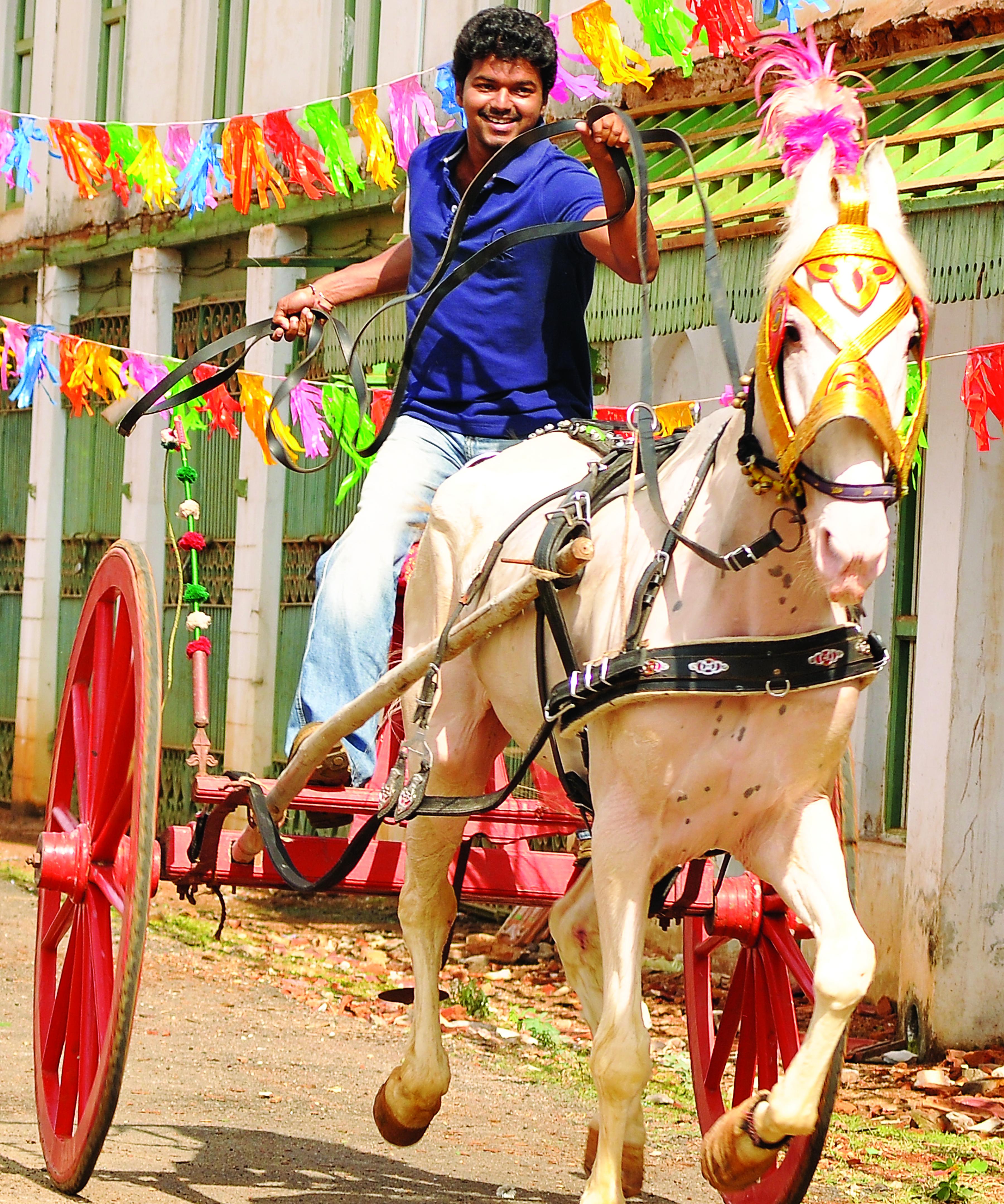 Thalapathy Vijay in Kaavalan