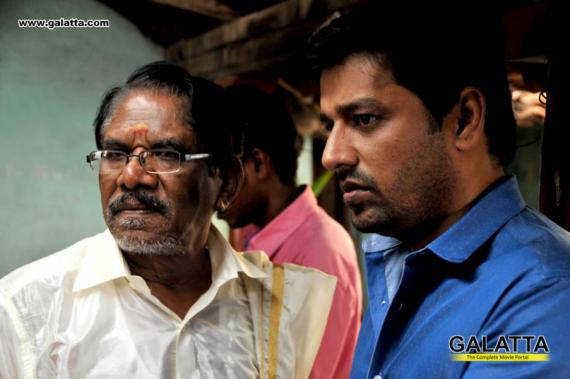 Bharathiraja and Vidharth in Kurangu Bommai
