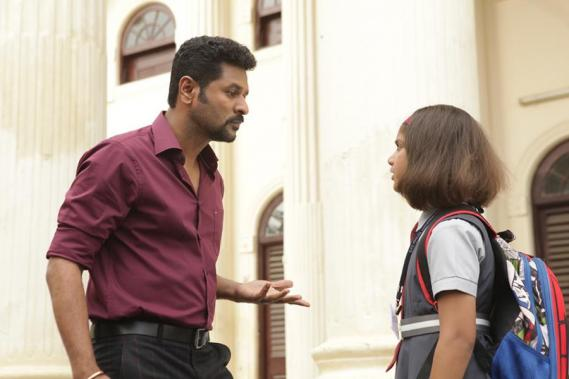 Prabhu Deva and Ditya Bhande in Lakshmi Tamil Movie