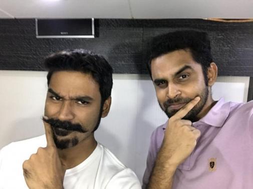 Dhanush and Balaji Mohan
