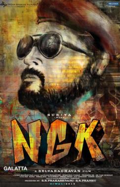 NGK first look poster with Suriya