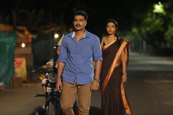 Vishnu Vishal and Amala Paul in Ratsasan