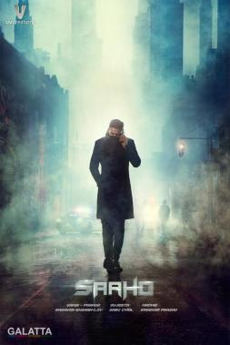 Prabhas in Saaho first look poster