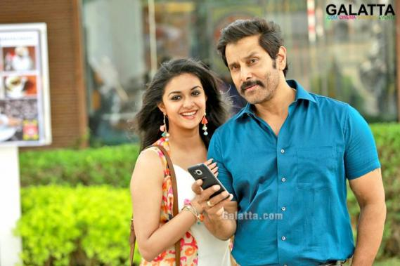 Vikram and Keerthy Suresh in Saamy Square