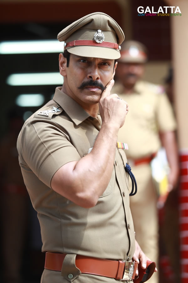 Vikram in Saamy Square